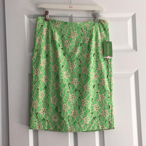 769ab1e6a Lilly Pulitzer Skirts   Hyacinth Skirt Size 10   Poshmark